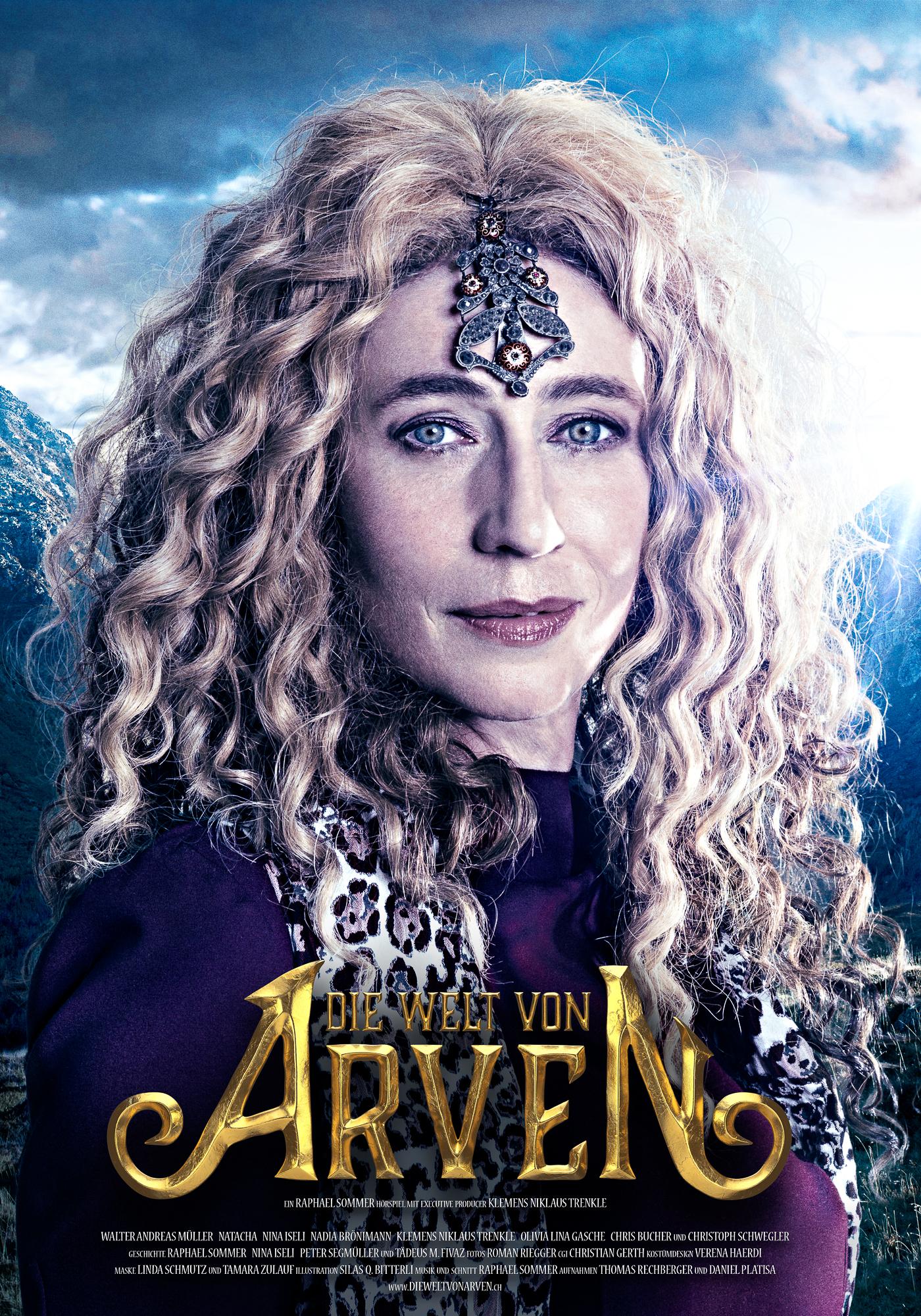 Die Welt von Arven - Zarania - Nina Iseli