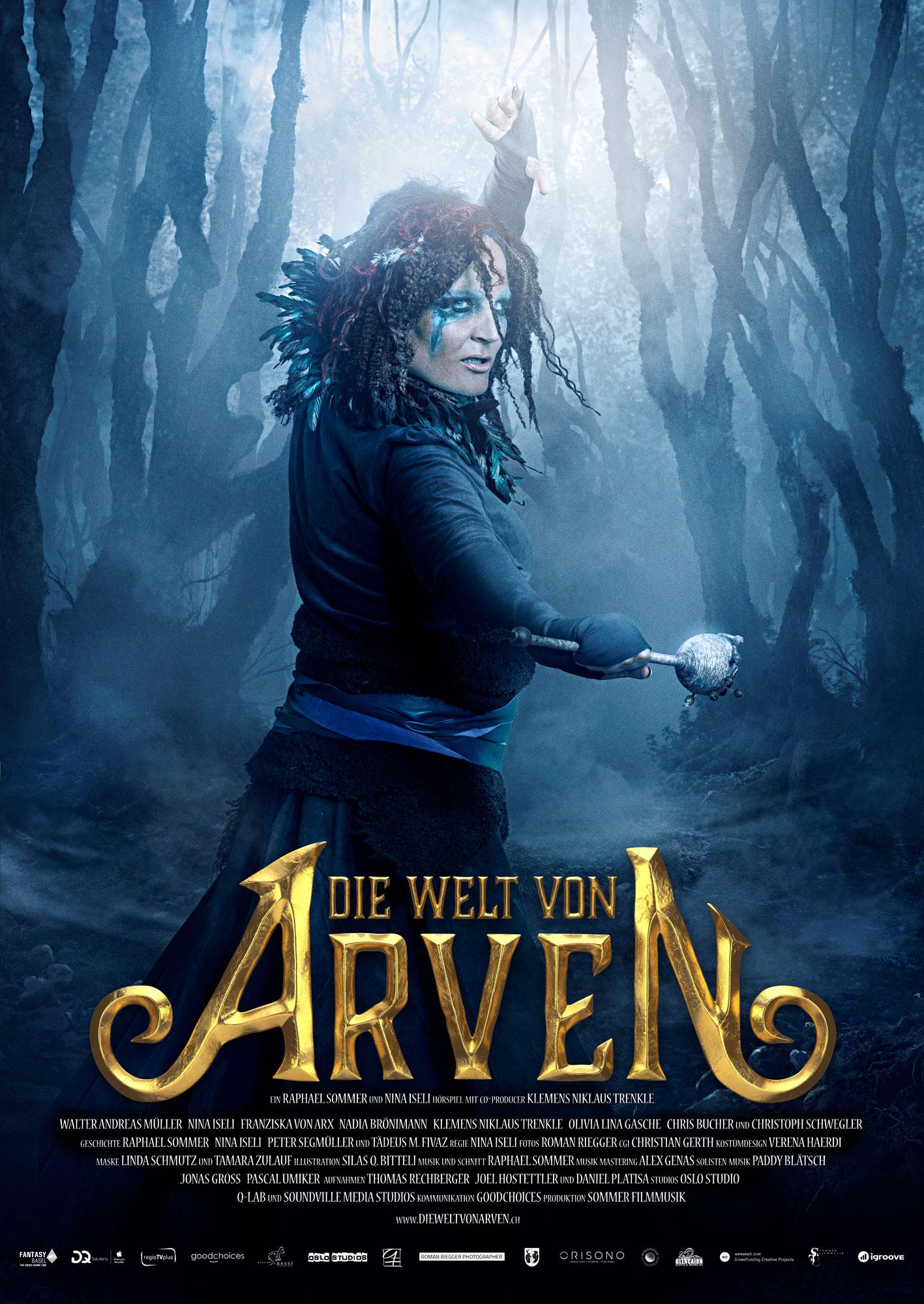 Die Welt von Arven - Kassyndra Poster - Nadia Brönimann