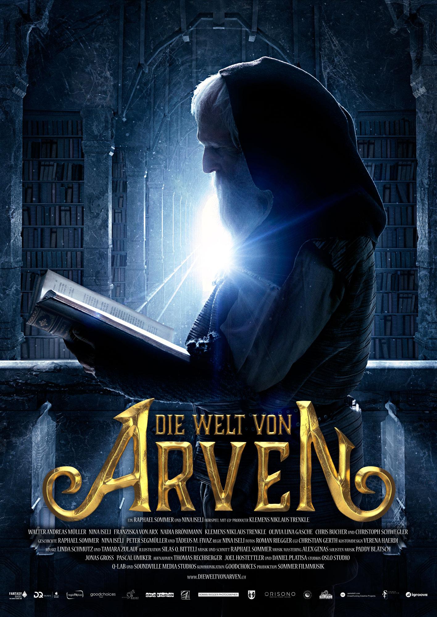 Die Welt von Arven - Biqim Poster - Walter Andreas Müller