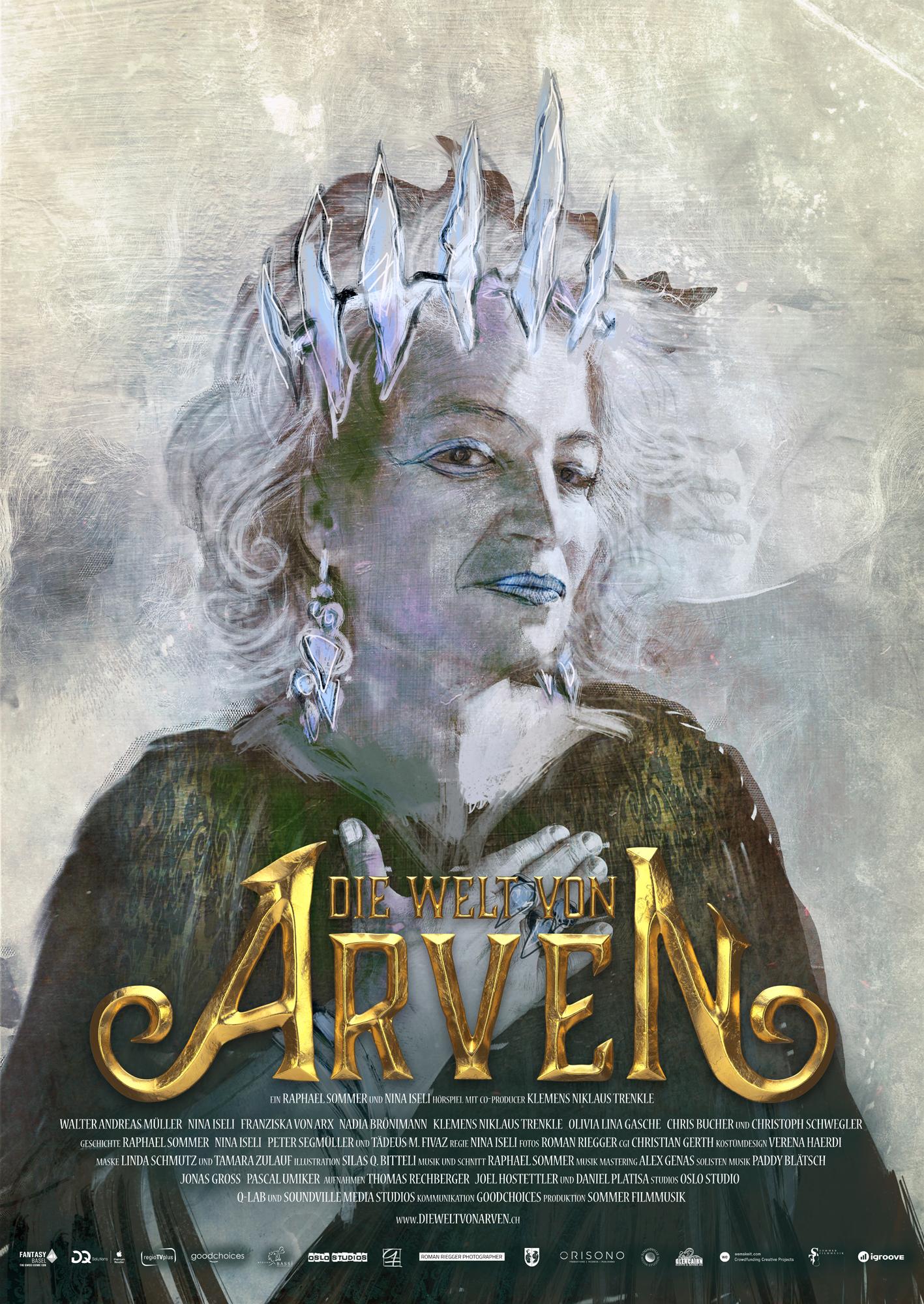 Die Welt von Arven - Das Schwert der Ahnen - E-Book Alika-Poster - Franziska von Arx