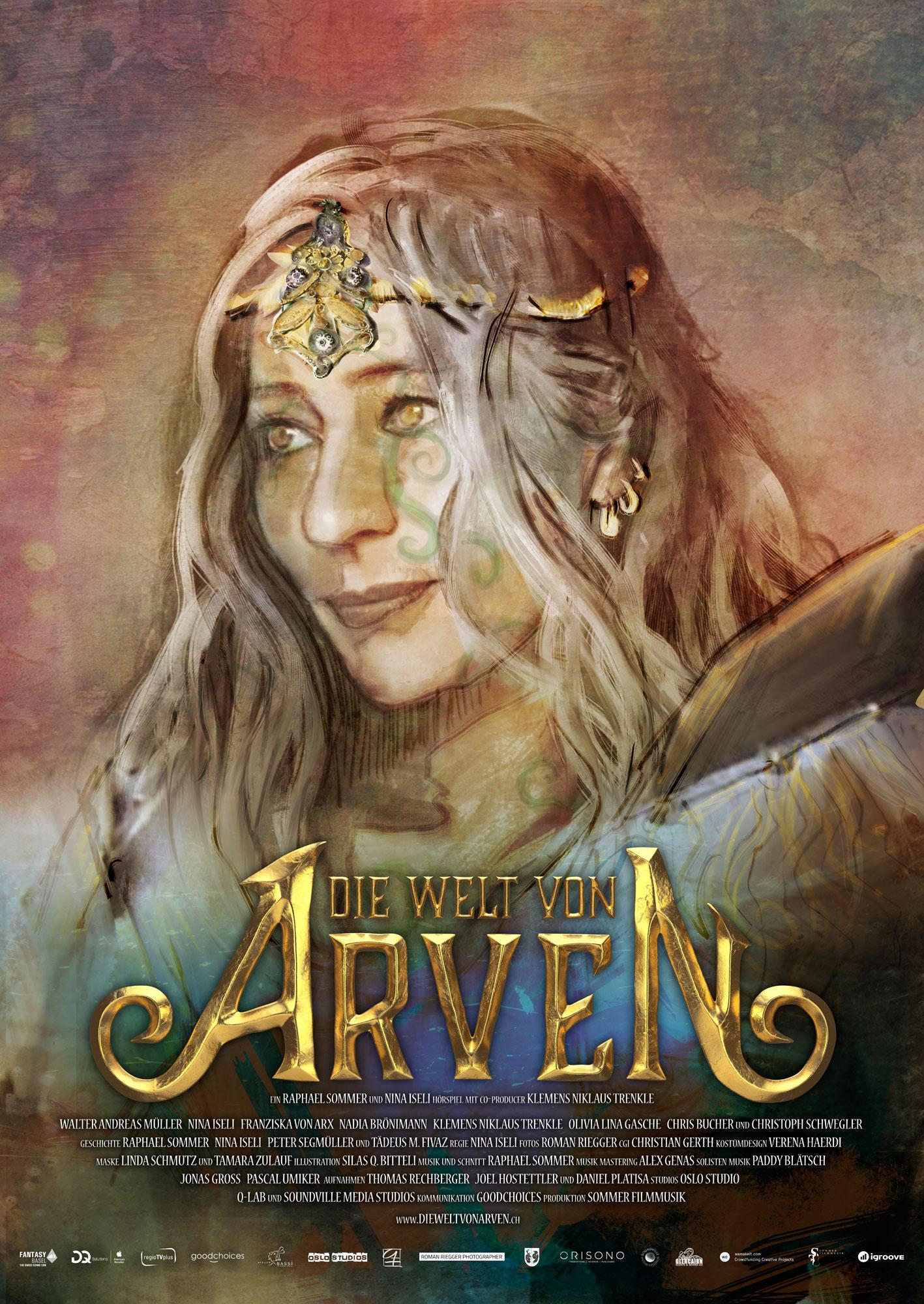 Die Welt von Arven - Das Schwert der Ahnen - E-Book Zarania-Poster - Nina Iseli